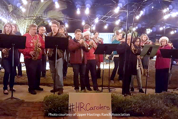 Hastings Ranch Christmas Lights - Band